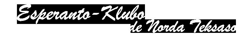 Esperanto Klubo – Esperanto Klubo de Norda Teksaso